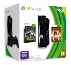 Xbox 360 Slim 250GB + Halo Reach & Fable III