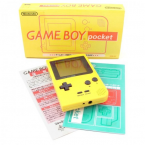 Game Boy Pocket Yellow (Complète)
