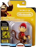Diddy Kong With Mystery Accessory Figurine