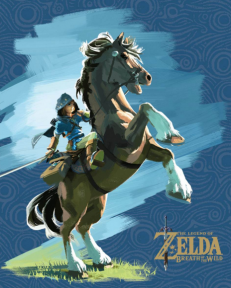 Cadre 3D Lenticulaires Zelda Breath of the Wild