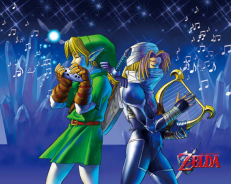 Cadre 3D Lenticulaires The Legend of Zelda Song