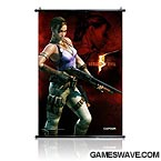 Resident Evil Cloth Wall Scroll - Sheva