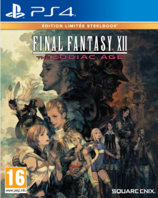 Final Fantasy XII The Zodiac Age Steelbook