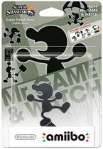 Amiibo Super Smash Bros: Mr Game & Watch