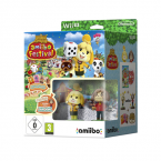 Animal Crossing Amiibo Festival + 2 Figurines + 3 cartes